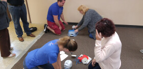 January 2017 CPR Training