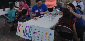 Face Painting Outreach at Tanque Verde Swap Meet