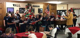 2017 Christmas Caroling at the Nursing Home
