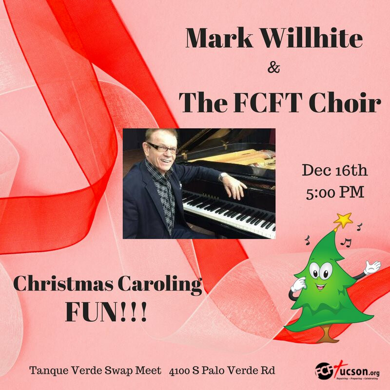 Mark Wilhite and the FCFT Christmas Choir promo