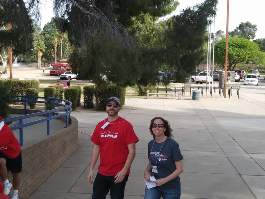 Serving At The Walk--John & Val