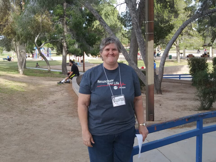 Serving At The Walk--Barbara