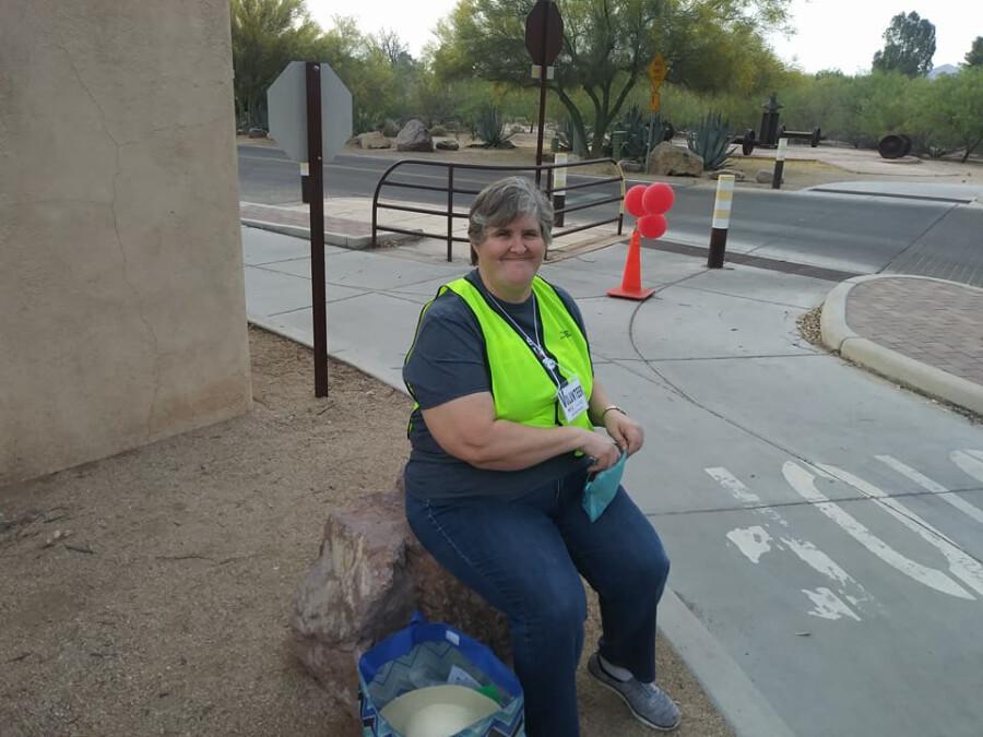 Serving At The Walk--Barbara 1