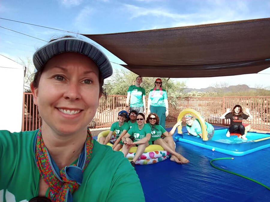 toddler water fun team