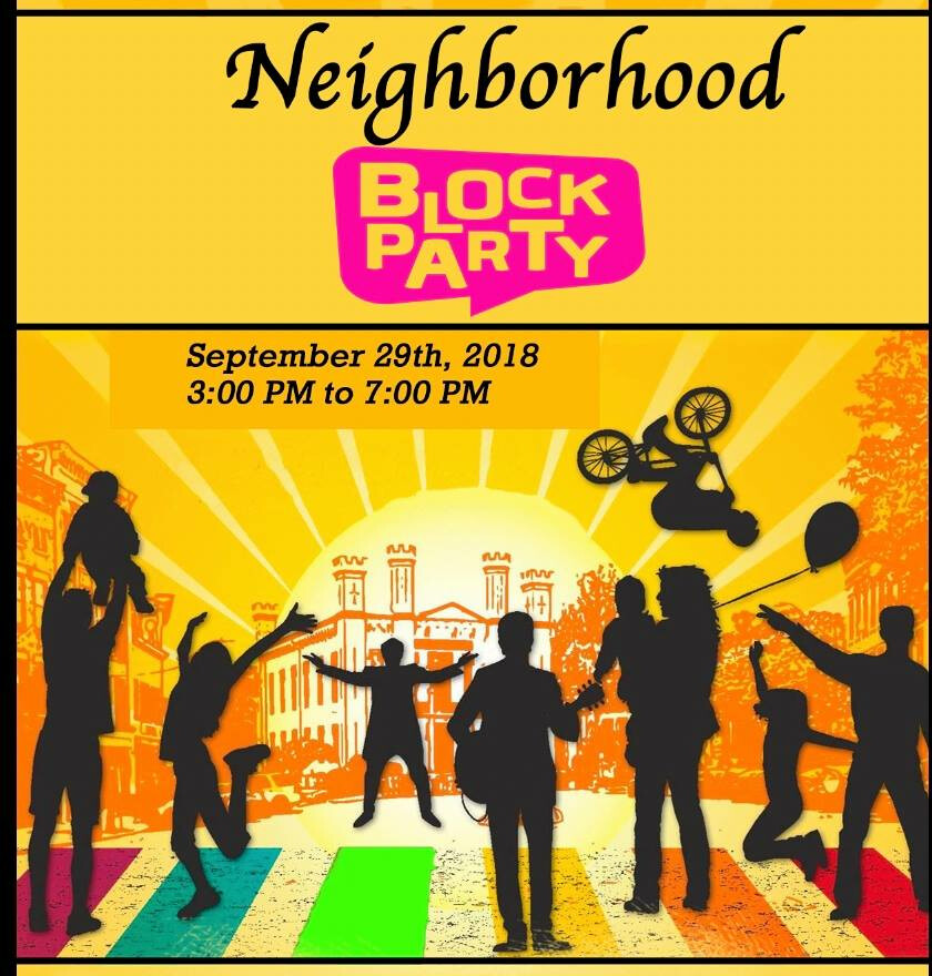 block party flyer