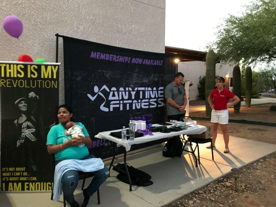 block party-anytime fitness