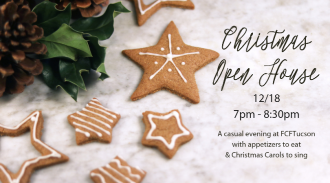 7pm Christmas Open House