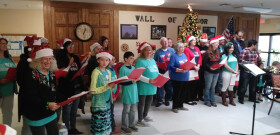 2018 Christmas Caroling at Nursing Home