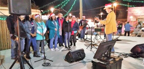 2018 Christmas Caroling at Tanque Verde Swap Meet