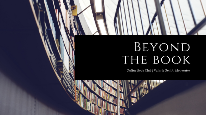 6pm Beyond the Book (on Zoom)